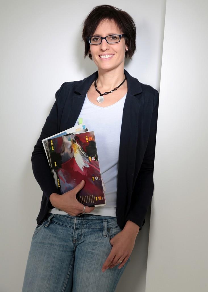 Vertrauensvolle Zusammenarbeit mit Dr. Anja Becker; (c) Fotostudio Am Kurfürstenplatz, München
