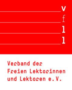 Mitglied im Verband der Freien Lektorinnen und Lektoren e. V.