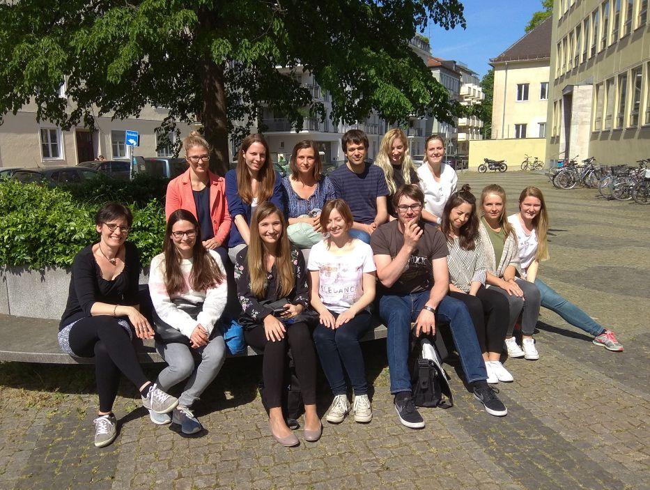 Teilnehmer des Schreibworkshops, Tierärzliche Fakultät der LMU München