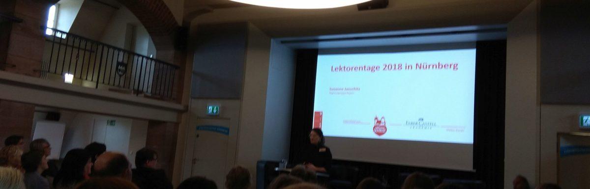 Diesjährige Lektorentage in Nürnberg